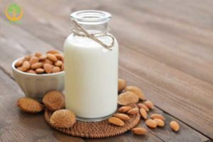 Almond milk to drink during intermittent fasting