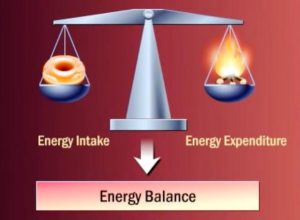 weight loss energy balance